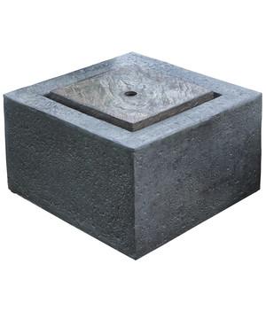 Granimex Polystone Gartenbrunnen Wasserspiel Quader, 50 X 50 X 35 Cm