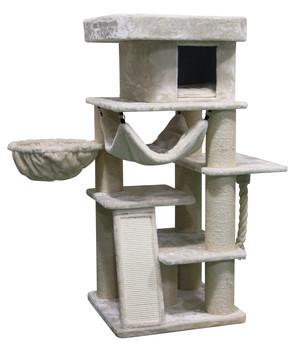 Katzenzubehör Kratzbaum und Katzenstreu im Onlineshop