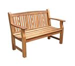 Holzbank Bristol, 2-Sitzer